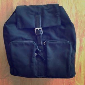 Coach black backpack
